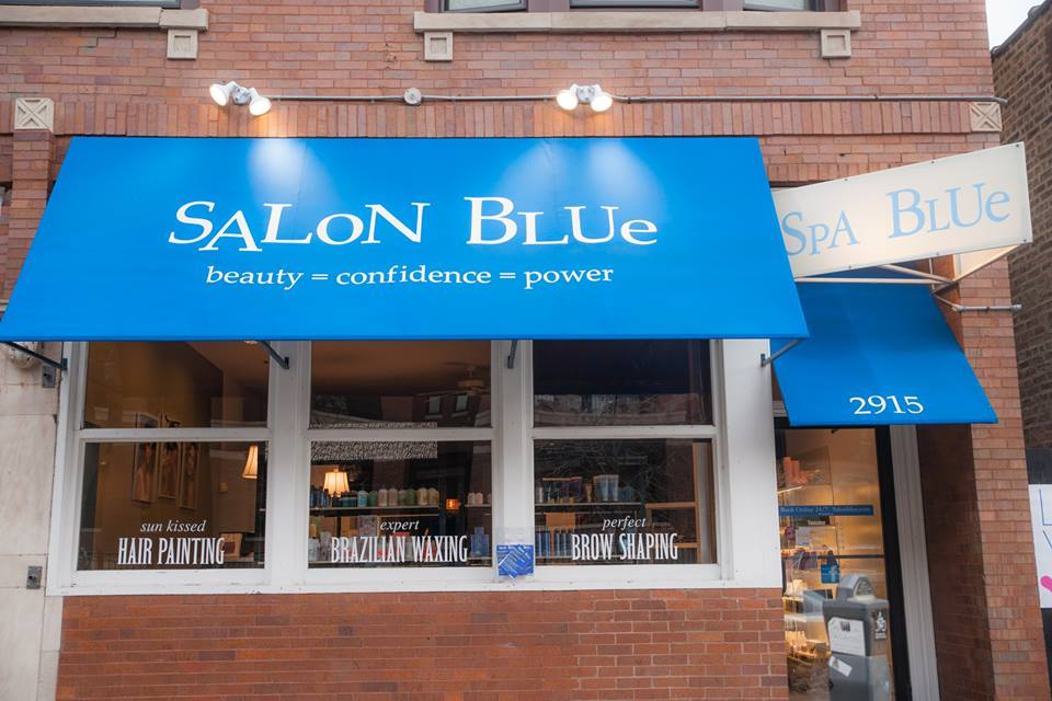 salon blue gallery chicago